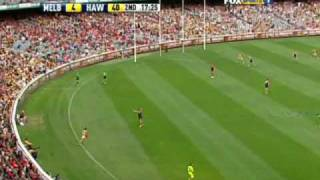 Hawthorn vs Melbourne (Round 1, 2010) HIGHLIGHTS