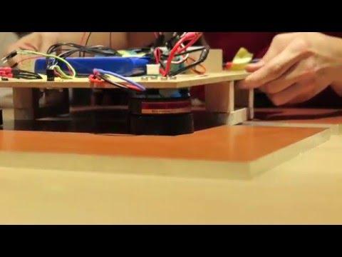 Keio Alpha Hyperloop - Levitation Test 28 Apr