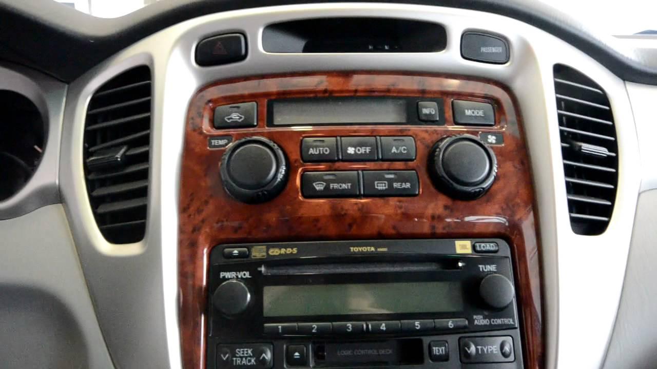 2006 Toyota Highlander Limited Stk 28988sa For Sale