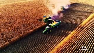 Cross Farms Harvesting 2016 Flying Frames