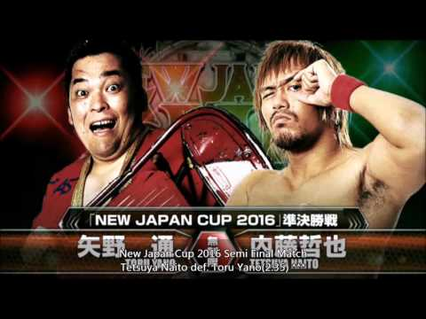 NJPW New Japan Cup 2016 Finals Review