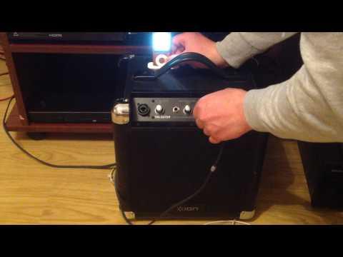 ION - TAILGATER Portable Speaker System.