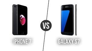 iPhone 7 - Galaxy S7 karşılaştırma! Sizce hangisi?