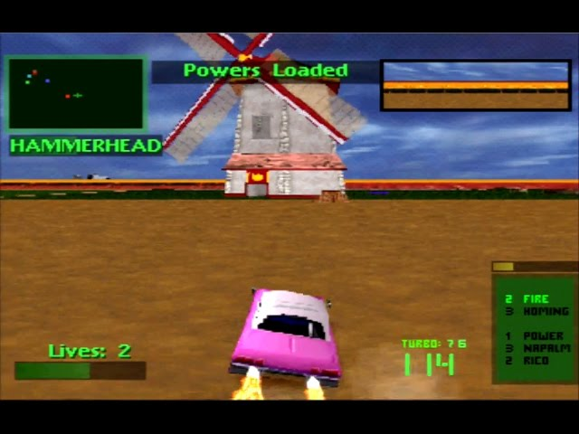 Twisted Metal 2 Thumper Tournament Playthrough HD