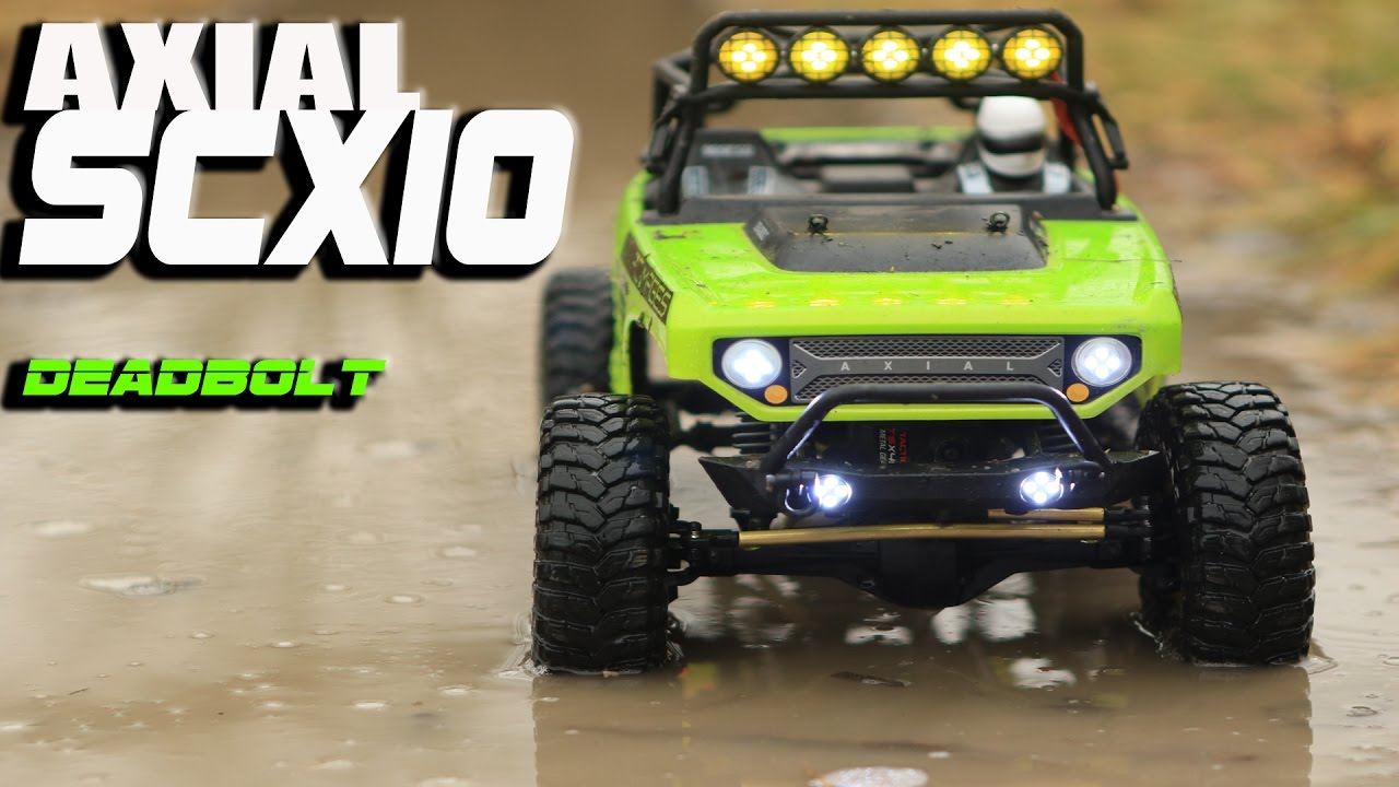 Axial SCX10 Deadbolt | RC Rock Crawling, Mudding, Off Road | FC Images