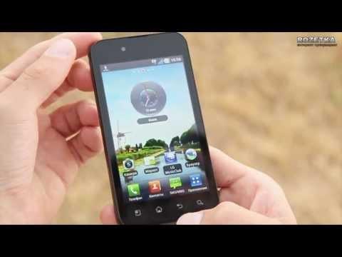 Обзор смартфона LG Optimus Black P970
