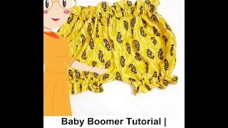 Baby Bloomer Tutorial   Cutting And Stitching Of Baby