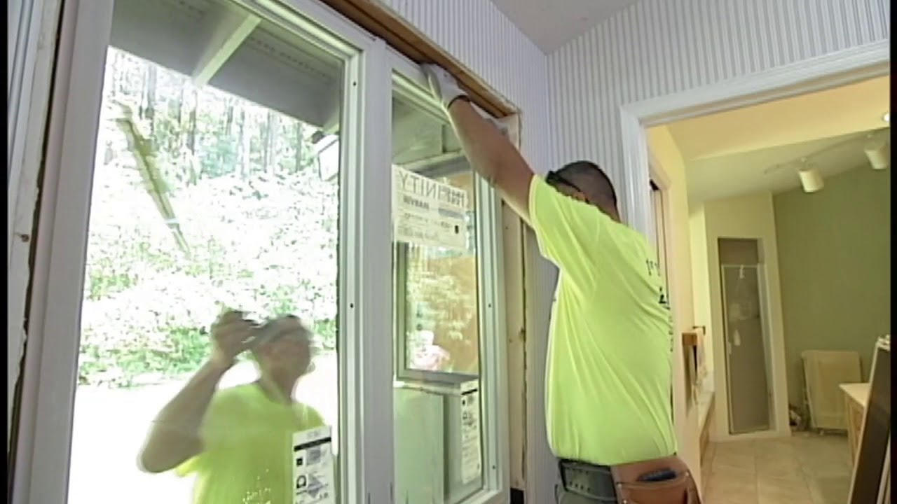 marvin infinity windows exterior infinity by marvin windows installation process youtube