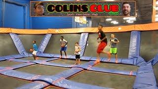 Trampoline Dodgeball - Sky Zone - ColinsClub