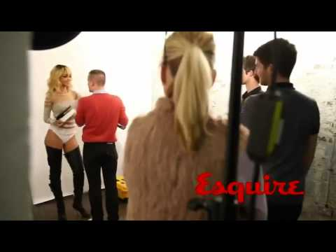 Rihanna - Shoot For Esquire UK (Behind The Scenes)