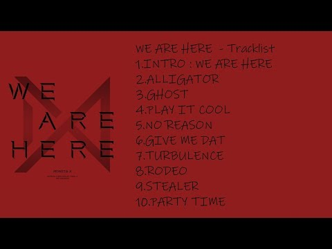 [FULL ALBUM] MONSTA X - WE ARE HERE – The 2nd Album Take.2