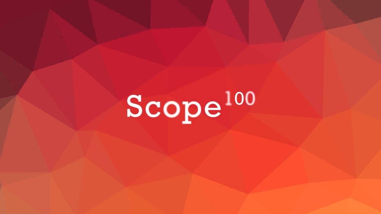 Scope100 promo
