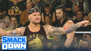 Baron Corbin defeats Roman Reigns with help from Roode and Ziggler | FRIDAY NIGHT SMACKDOWN
