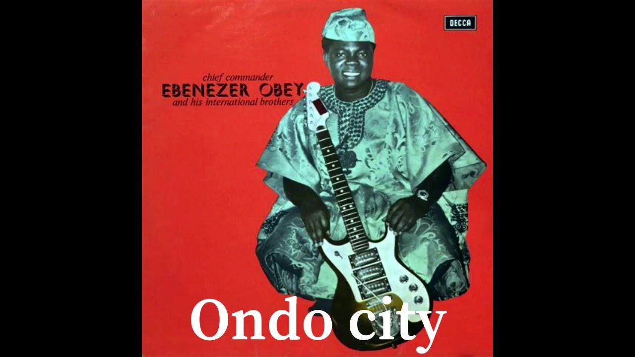 Download Chief Ebenezer Obey Live in Ondo Town — Akinyosoye