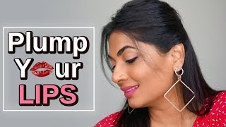 How to create fuller lips | Lippen-Make-up-Hack l Lookadora l Harshada Waghmare