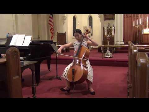 Vivaldi Cello Sonata no. 1 in B-flat major, Hannah Jieun Sohn