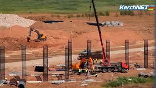 Керчь: строительство автоподходов
