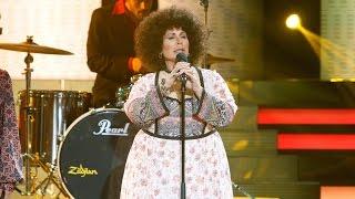 Vicky Larraz imita a Amaya Uranga de Mocedades en 'Tu cara me suena'