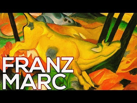 Franz Marc: A collection of 338 works (HD)