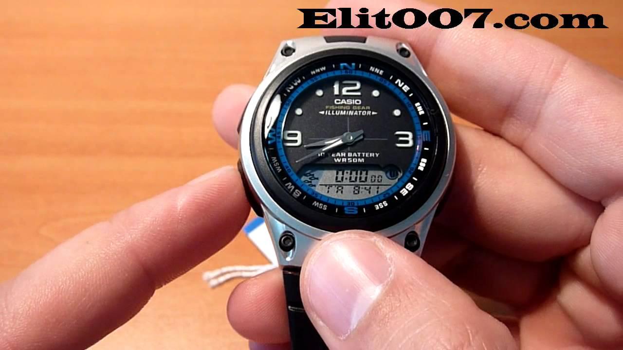 Casio Marine Gear Mrp-700 инструкция