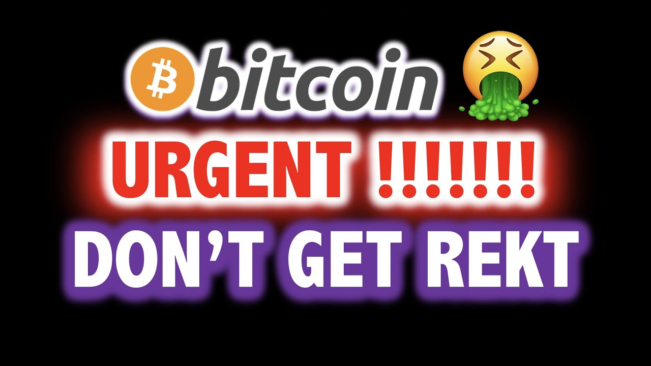 URGENT!!!! ? BITCOIN BULL RUN IS OVER?!!! OMFG!! ? Crypto TA Today & BTC Cryptocurrency Price Ne