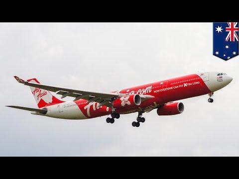 말레이시아 행 에어아시아 항공기, 말레이시아가 아닌 호주에 착륙?
