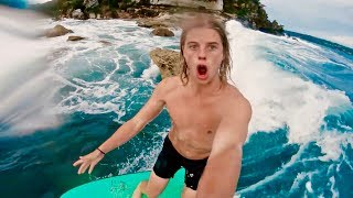 SURFING IMPOSSIBLE WAVES IN SYDNEY HARBOUR!!!