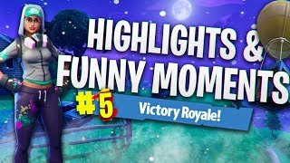 Noob Plays Fortnite! Highlights & Funny Moments #5