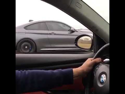 Bmw m4 vs bmw 335i - YouTube