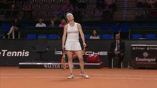Match Highlights 26 April - Porsche Tennis Grand Prix 2018