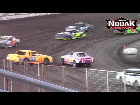 Nodak Speedway IMCA Stock Car A-Main (7/1/18)