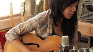 "Thao plays ""Kindness be Conceived"" in the California light"