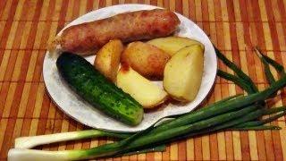 Украинская домашняя колбаса (рецепт приготовления).