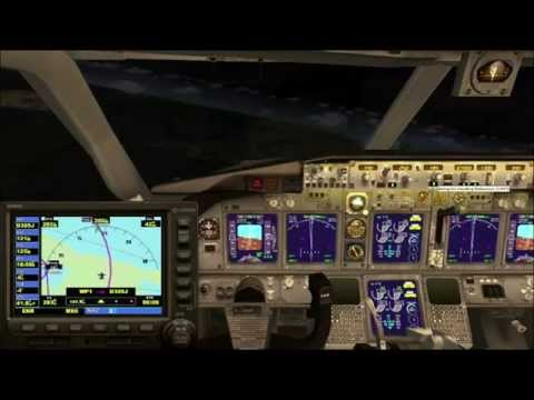 FSX HD DHL Complete Flight From Miami to Managua, Nicaragua