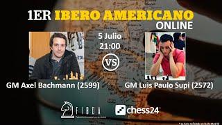 Iberoamericano Online: Axel Bachmann vs Luis Paulo Supi