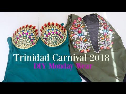 Trinidad Carnival 2018 | DIY MONDAY WEAR| Mickisha 868