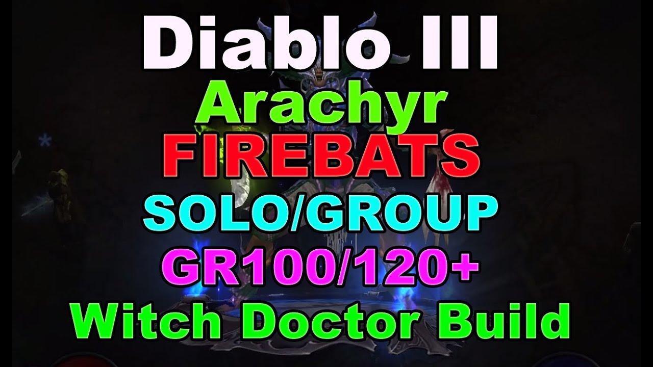 Arachyr Firebats Build