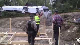 Building A Log Cabin In Finland: Preparing The Foundations (part 2)