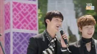 Entertainer I See You  - CNBLUE Kang MinHyuk - Trot Version - 딴따라 Tantara 경로 공연에서 '신나는 무대