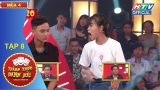HTV THÁCH THỨC DANH HÀI MÙA 4 | Đôi bạn tuổi teen chọc cười Xìn Giang | TTDH #8 FULL | 10/1/2018