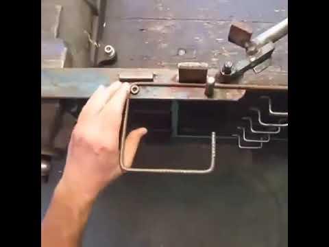 Reebar Manual Bender D.I.Y