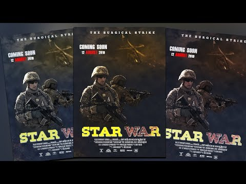 Action Movie Poster Design in Photoshop ! Tutorial Photoshop thumbnail