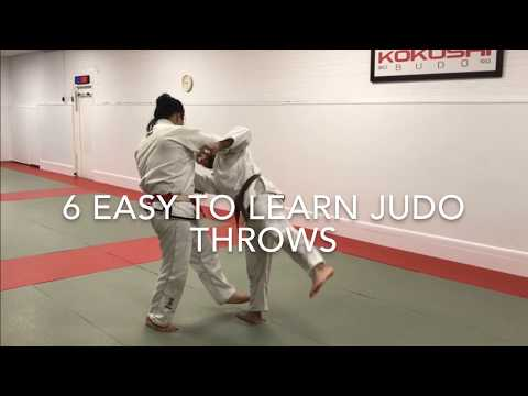 6 Easy to learn judo techniques