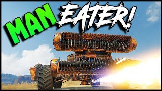 Crossout - THE EATER & FLARE FLINGER! ⚠️ (Crossout Gameplay)