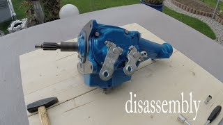 Chevy 3 speed manual transmission disassembly