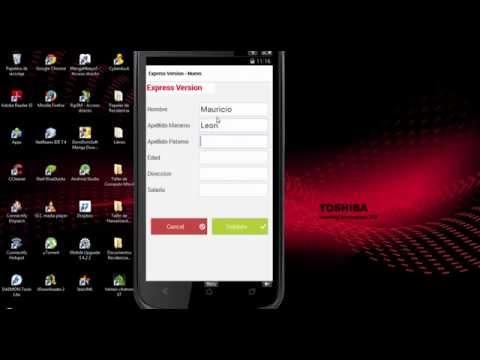 Aplicacion en Windev mobile Con Base de Datos