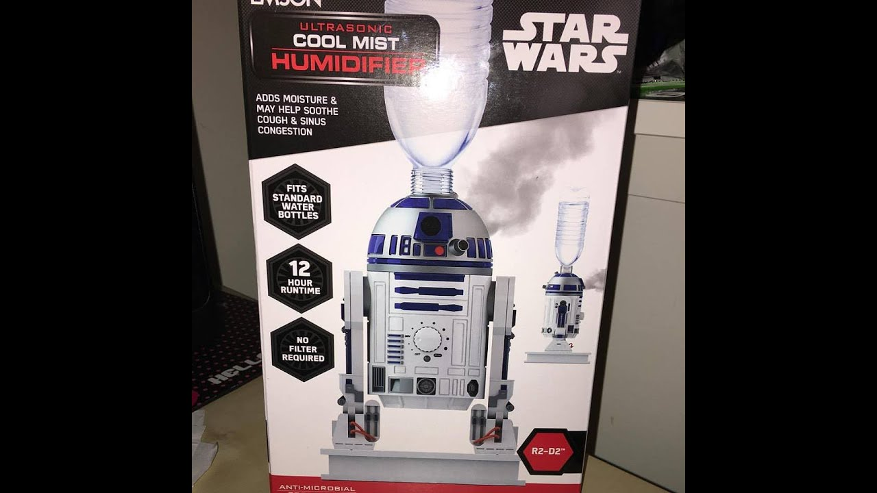Water Bottle Humidifier Reviews - Emson r2 d2 humidifier review