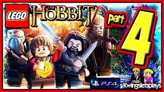 Lego the Hobbit - Walkthrough Part 4 Weathertop Roast Mutton co-op (PS4)