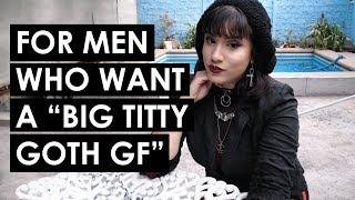 Big titty goth milf gf