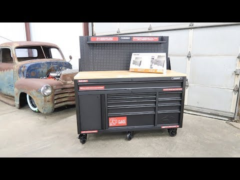 Husky 60 Inch 10 Drawer Toolbox Work Bench Review Youtube